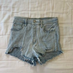 BDG High Waisted Ripped Shorts